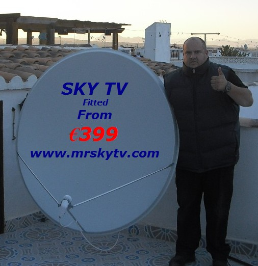 SKY TV TORREVIEJA SPAIN - UK BRITISH TV IN TORREVIEJA